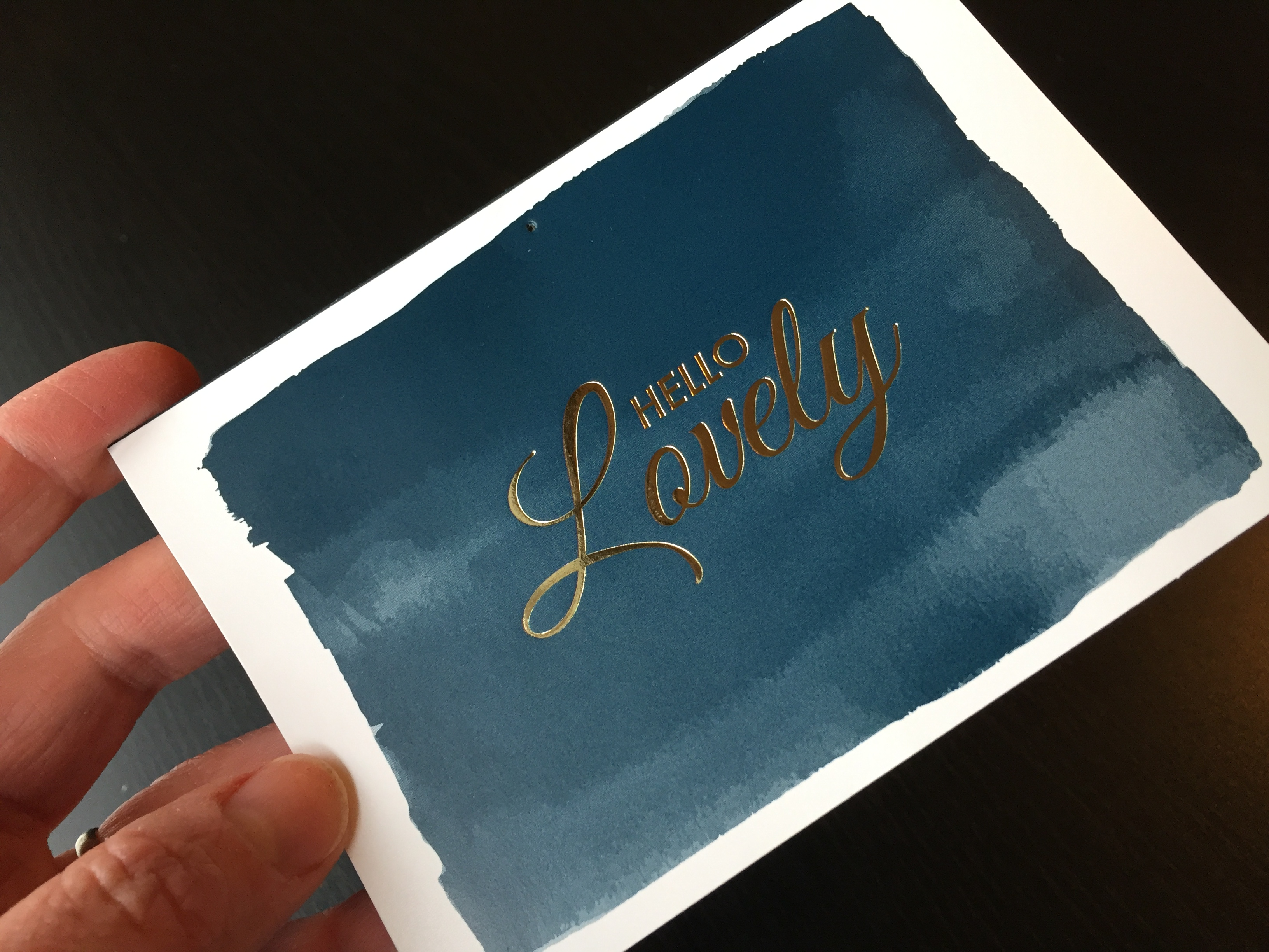 Thank you cards -- building corporate culture by The Freelance Portfolio