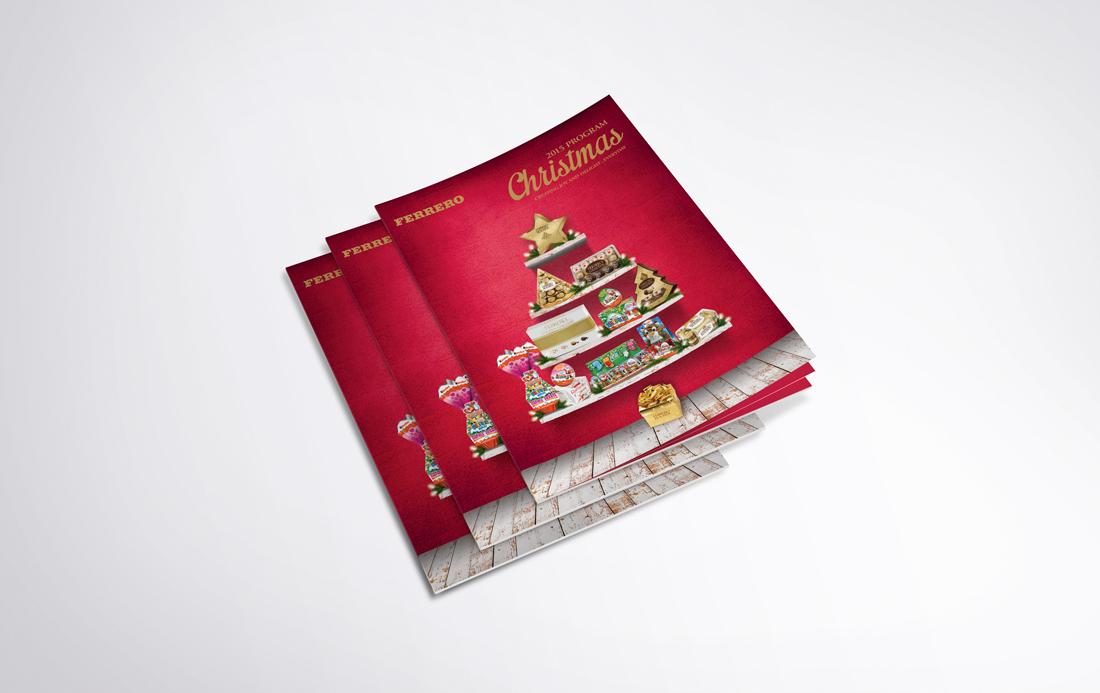 Sales Brochure | The Freelance Portfolio Inc Ferrero Sales Brochure Designed By