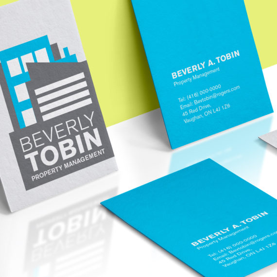 Branding Identity Logo for Beverly Tobin Property Management by The Freelance Portfolio Inc.