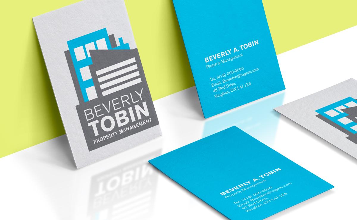 Branding Identity Logo for Beverly Tobin Property Management by The Freelance Portfolio Inc.
