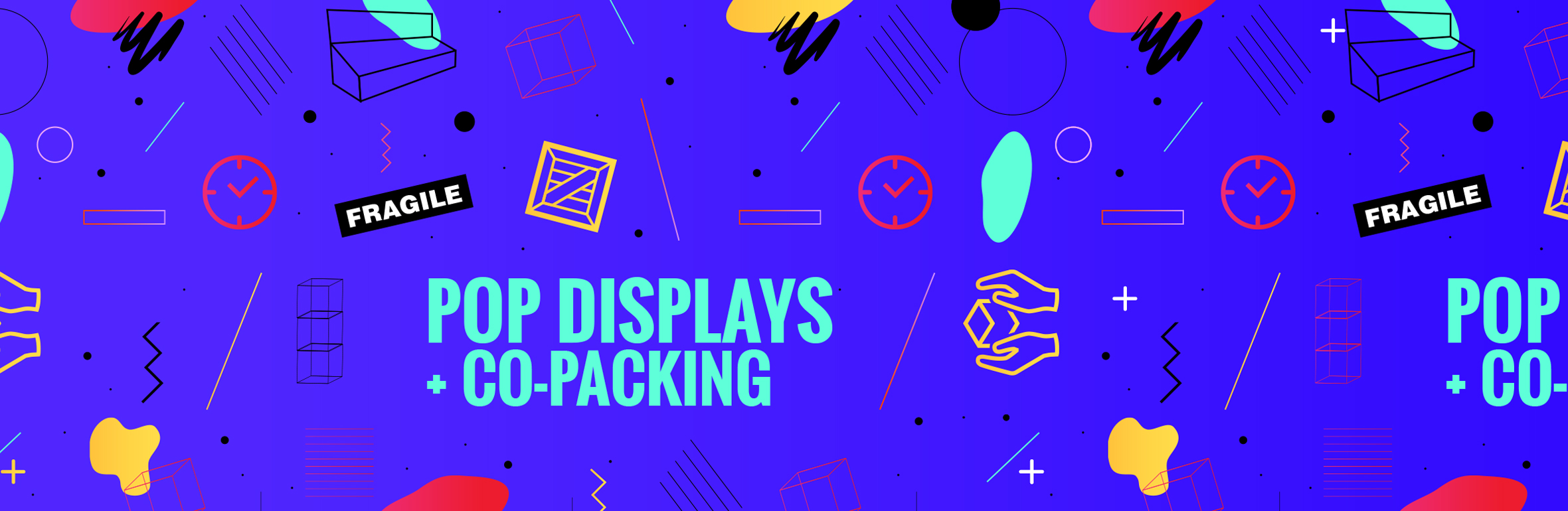 POP Displays + Co-Packing