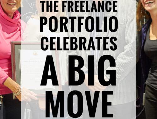 The Freelance Portfolio Celebrates A Big Move No6 TITLE