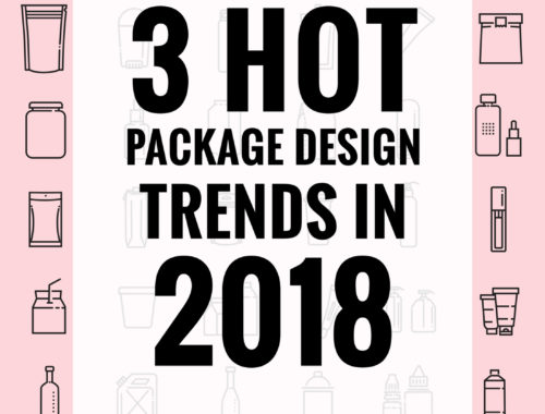 3 hot package design trends in 2018